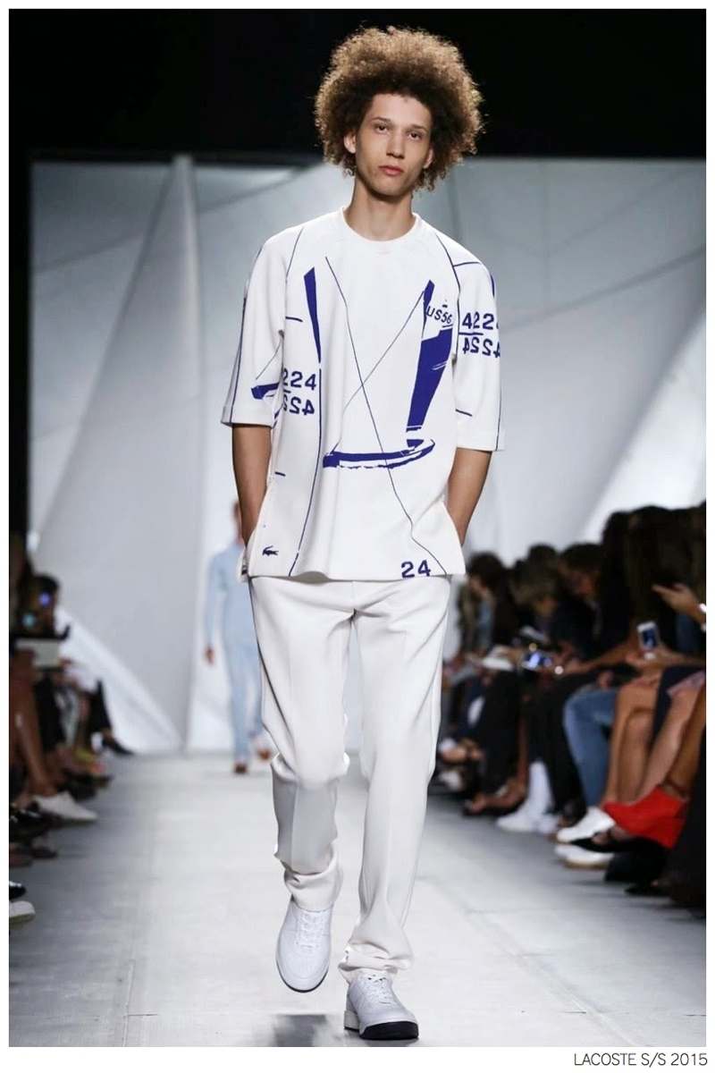 Lacoste Spring/Summer 2015 Nautical Collection