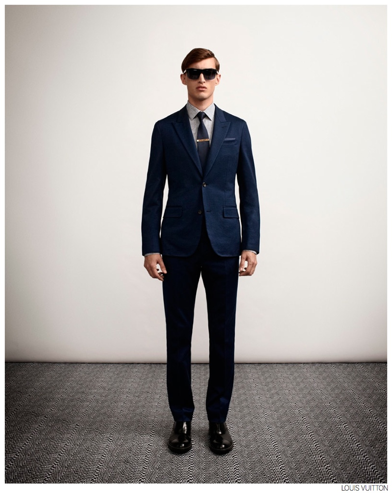 Louis Vuitton Highlights Sharp Suiting for Spring/Summer ...