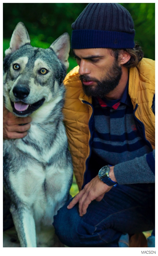 Ricki Hall + Spyros Christopoulos Star in Macson Fall 2014 Campaign
