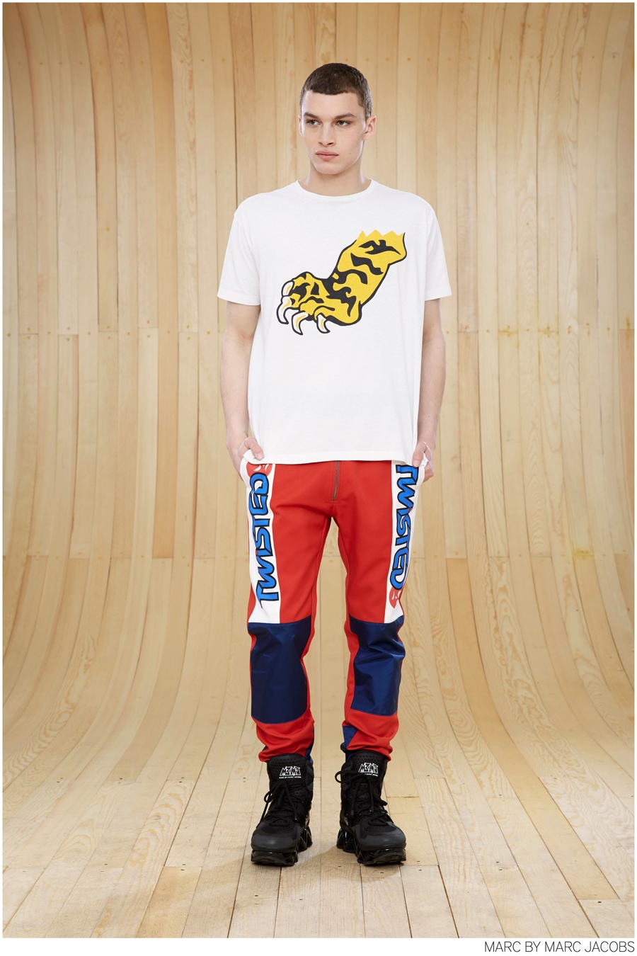 Louis Mayhew Rocks Marc by Marc Jacobs Motocross Inspired Fall 2014 Collection