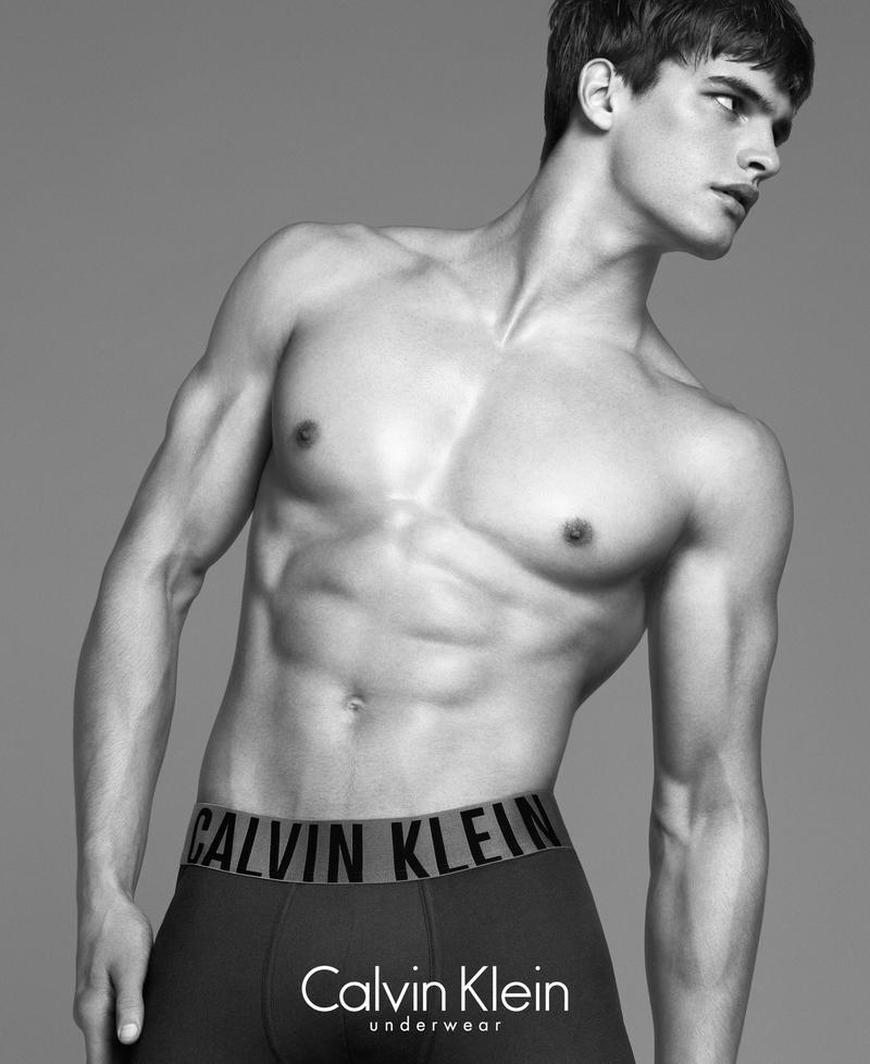 Matthew Terry by Lachlan Bailey for Calvin Klein Underwear 2014