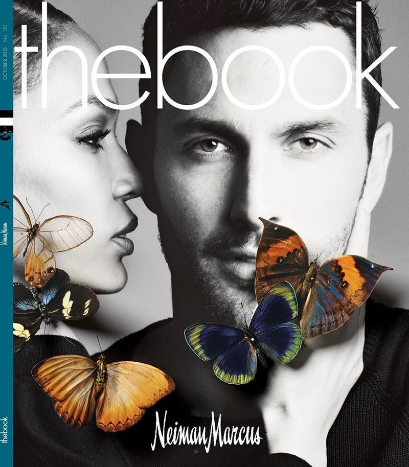 Noah Mills Joins Joan Smalls for Neiman Marcus The Book
