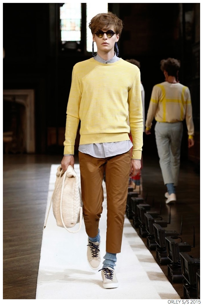 Orley Unveils Bright Colored Knitwear for Spring/Summer 2015 Collection