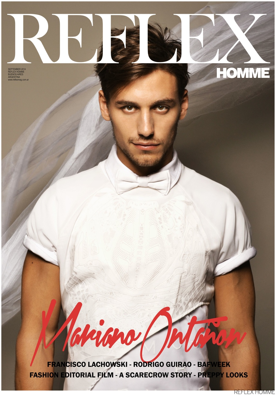 Francisco Lachowski, Mariano Ontañon + More Cover Reflex Homme September 2014 Issue