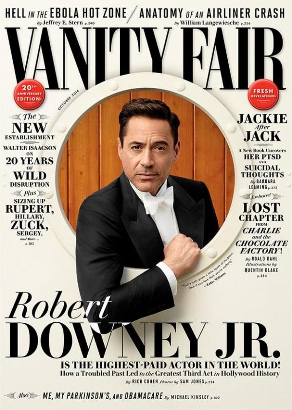 Robert Downey Jr. photographed by Sam Jones