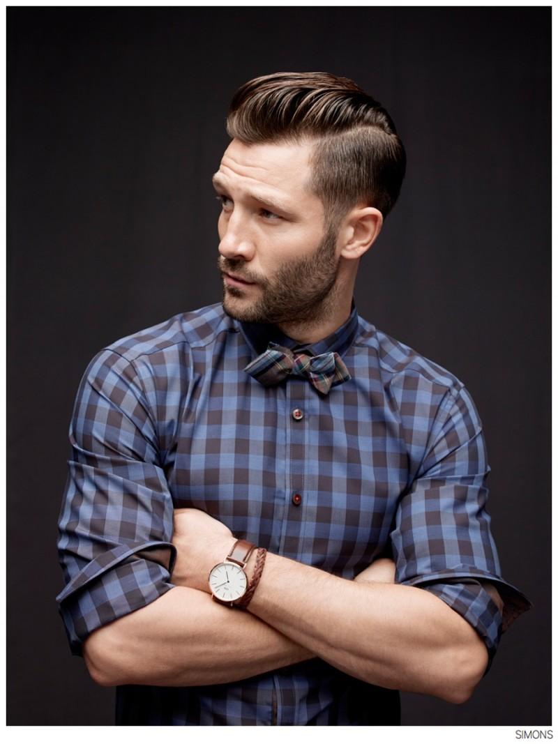 John Halls Models Wall Street Styles + Activewear For Simons