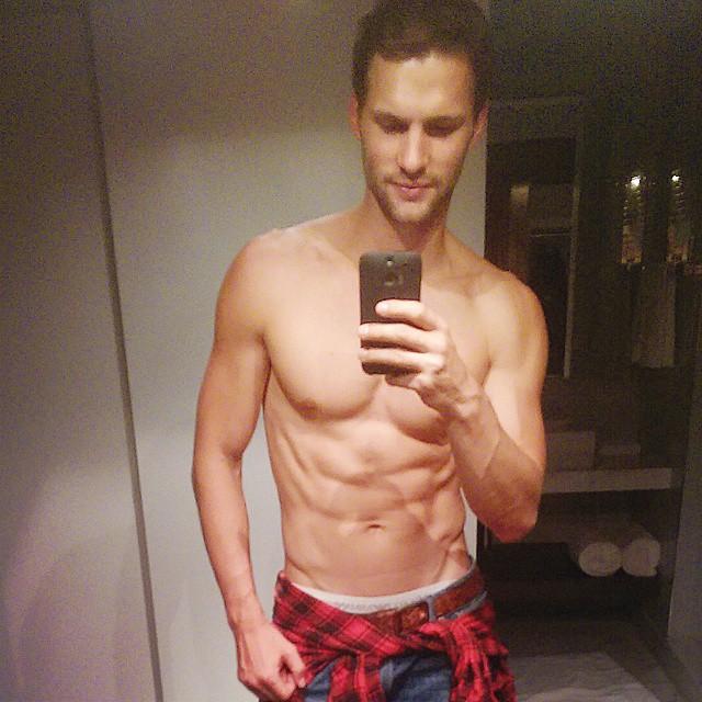 Tomas Skoloudik poses for a new selfie.