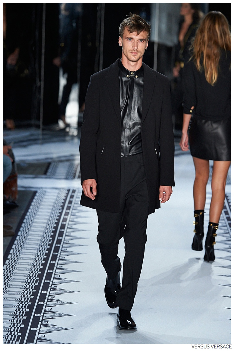 Versus Versace Hits the Runway with Anthony Vaccarello Collaboration