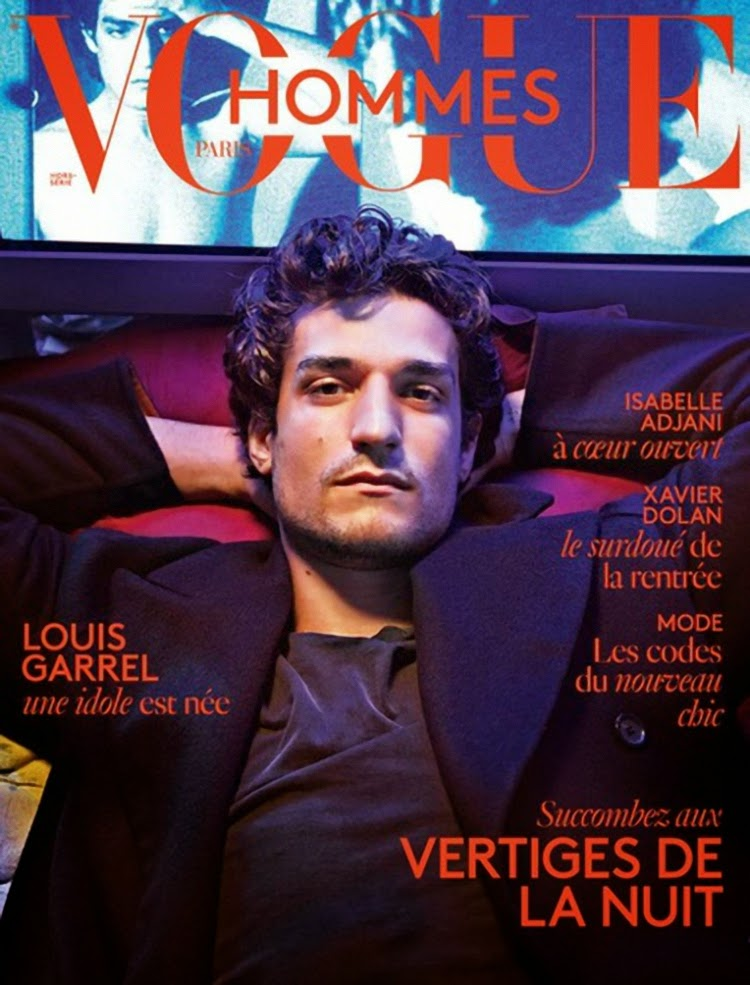 Louis Garrel by Mario Sorrenti for Vogue Hommes Paris Fall/Winter 2014 Cover