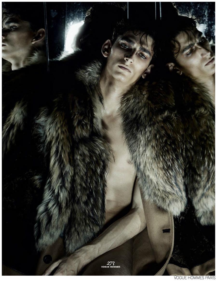 Filip Hrivnak, Baptiste Radufe, Mihai Bran & Max Esken are 'The Predators' for Vogue Hommes Paris