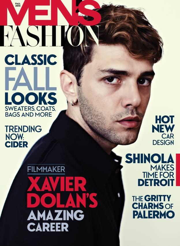 Xavier Dolan Covers Men's Fashion Fall 2014 Issue   The ...