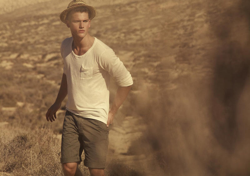 Desert Inspiration Photographer Peter Gehrke Continued His Adventures With An Outing From Bershka Featuring Brazilian Model Arthur Sales