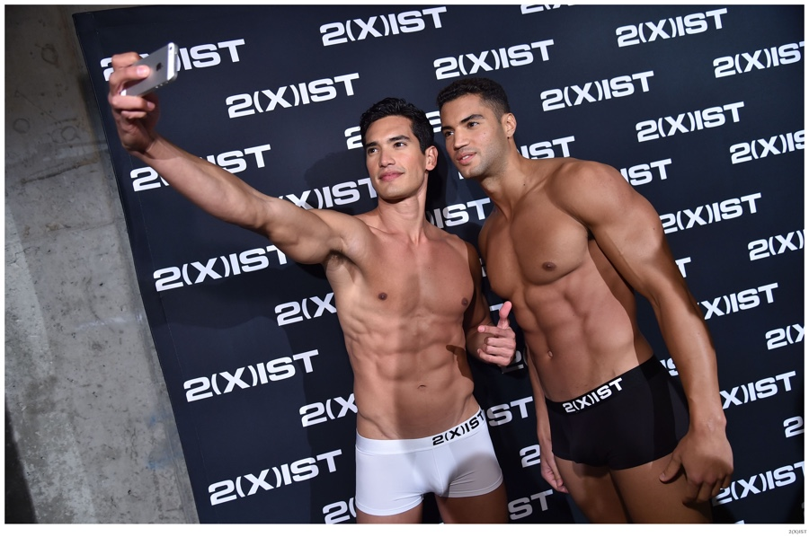 2 xist hits the catwalk with spring summer 2015 underwear for Ford male models salary