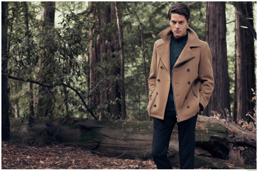 7 Diamonds Ventures Outdoors for Fall/Winter 2014 Campaign