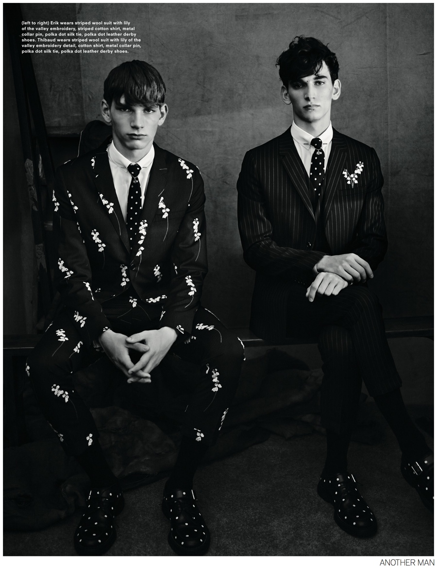 Dior Homme Fall 2014 Featured in AnOther Man