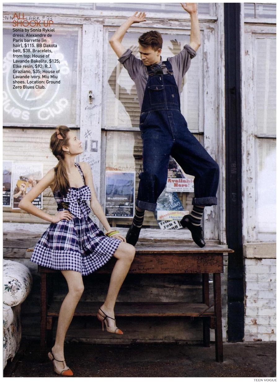 TBT: Ansel Elgort Teen Vogue April 2009 Photo Shoot