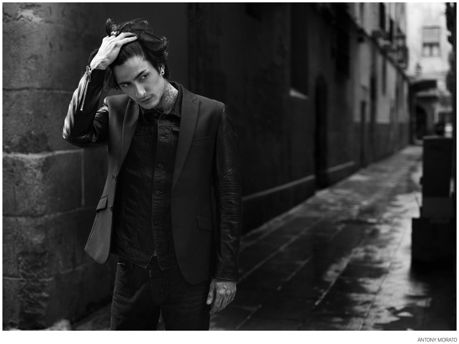 Antony Morato Travels to Barcelona, London & Naples for Fall 2014 Campaign