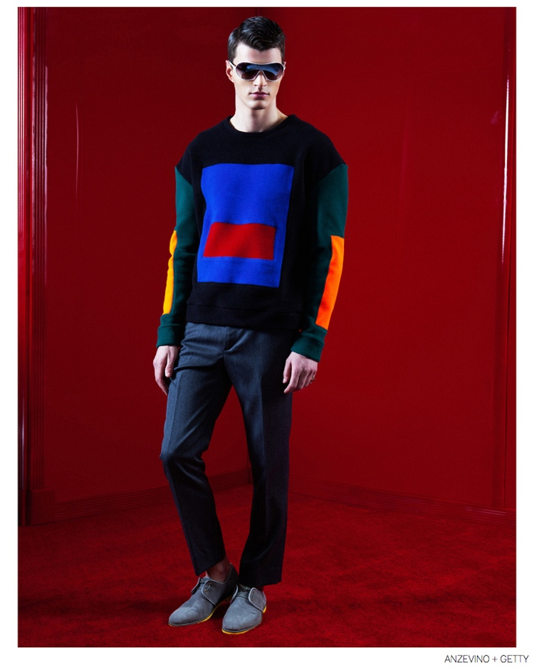 Anzevino + Getty Delivers Playful Punch with Fall 2014 Fashions