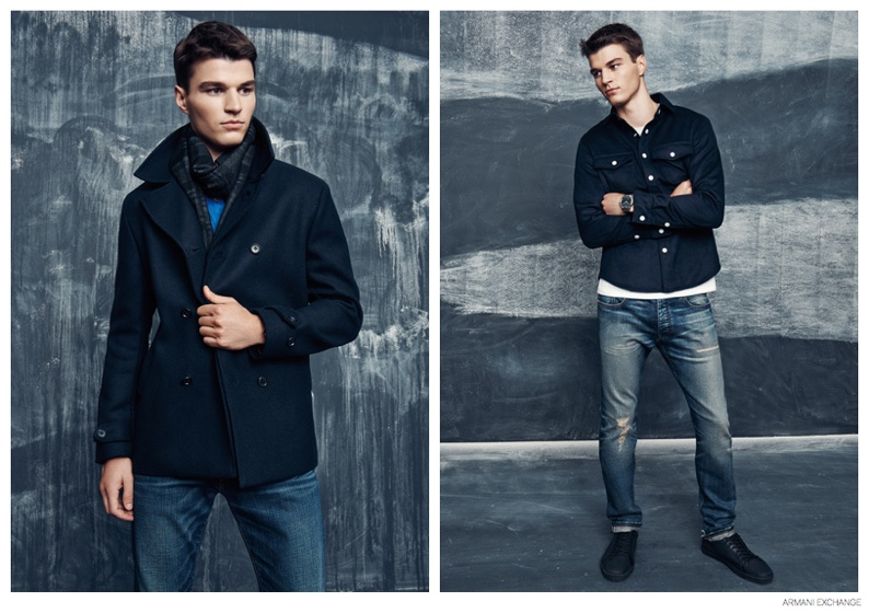 armani exchange embraces dark styles for october 2014
