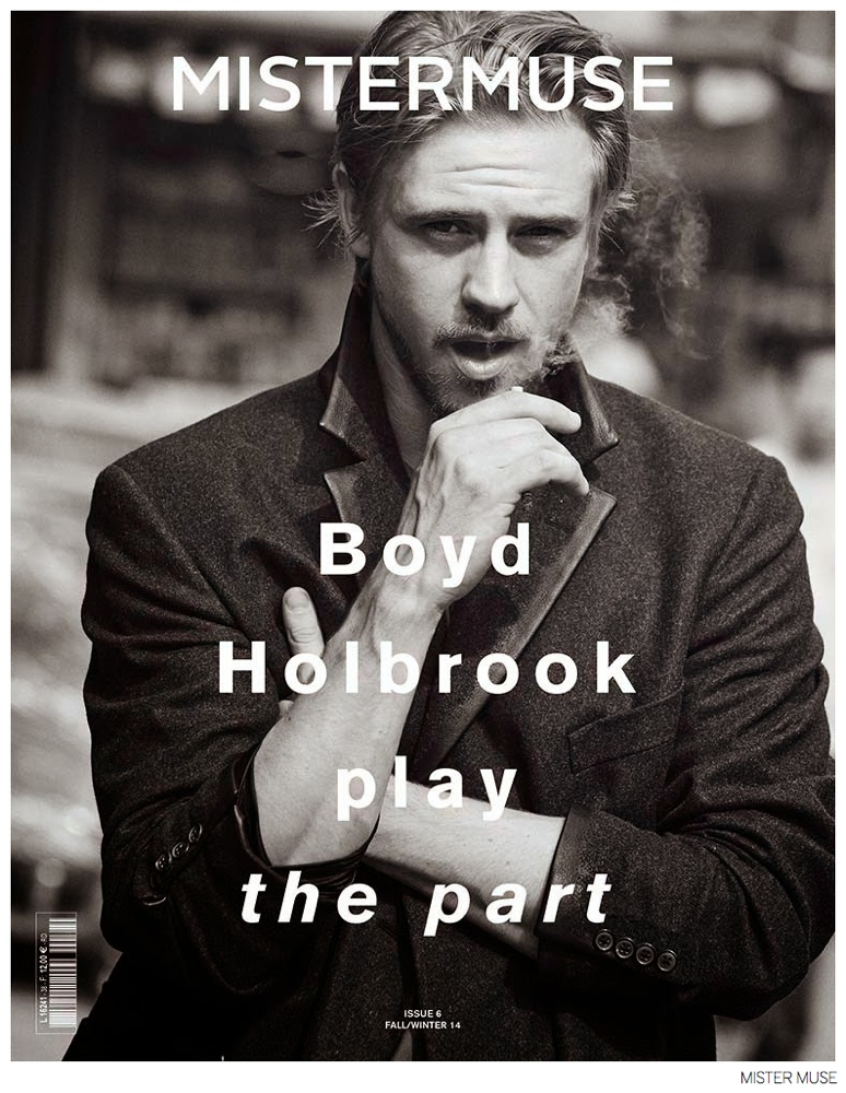 Boyd Holbrook Covers Mister Muse Fall/Winter 2014 Issue