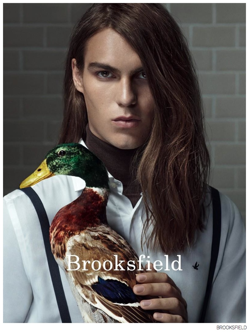 Travis Smith & Felix Hermans Front Brooksfield Fall/Winter 2014 Campaign