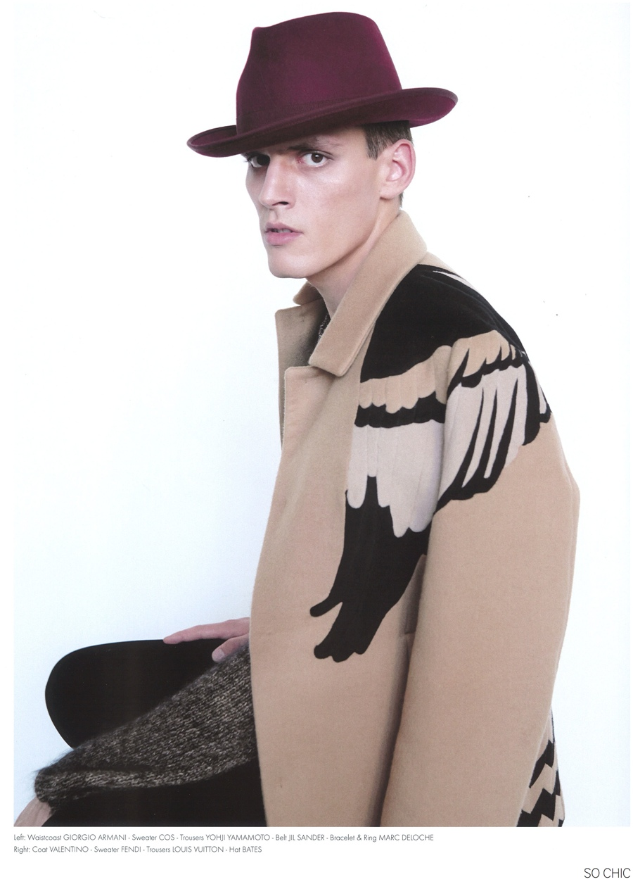 The Dandy Goes Wild: Christopher Michaut for So Chic Magazine