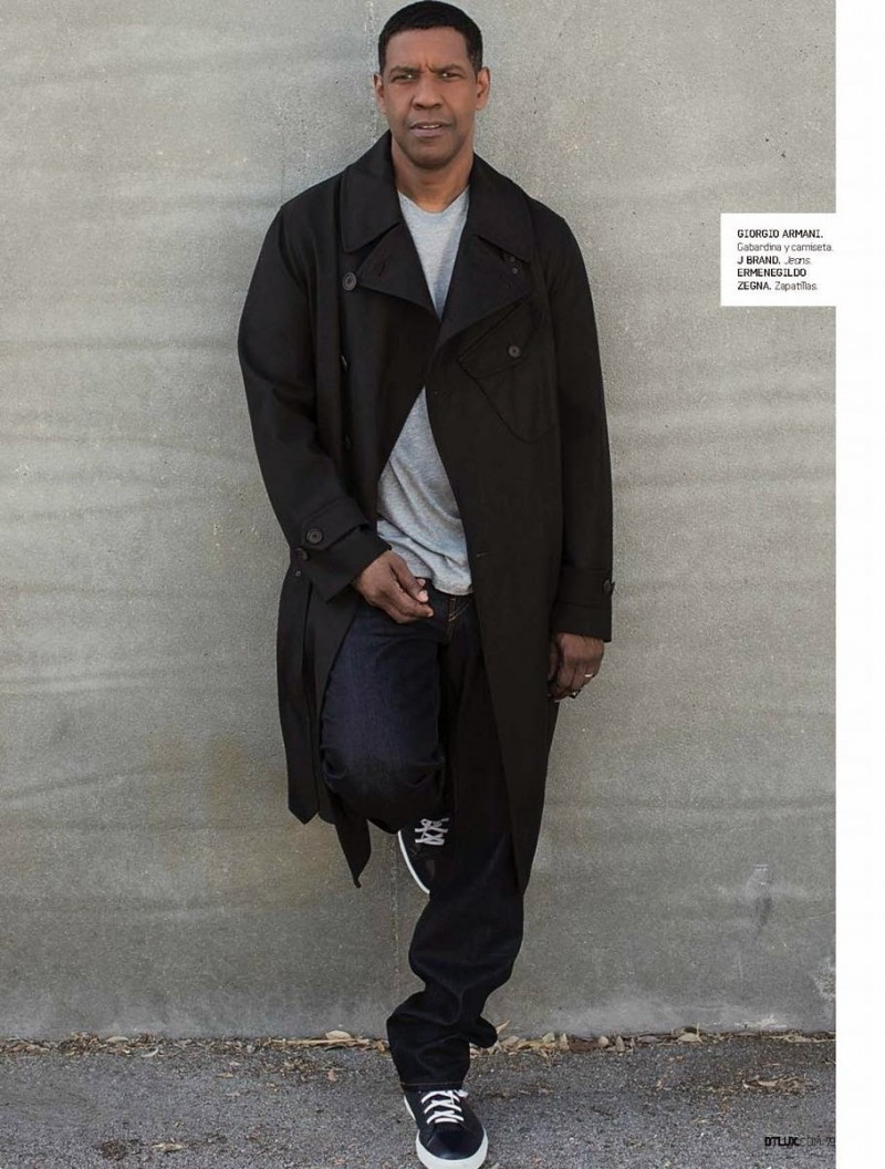 Denzel Washington Covers DT Lux October 2014 Issue