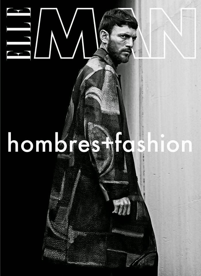 Ryad Slimani Covers Elle Man Mexico November 2014 Issue