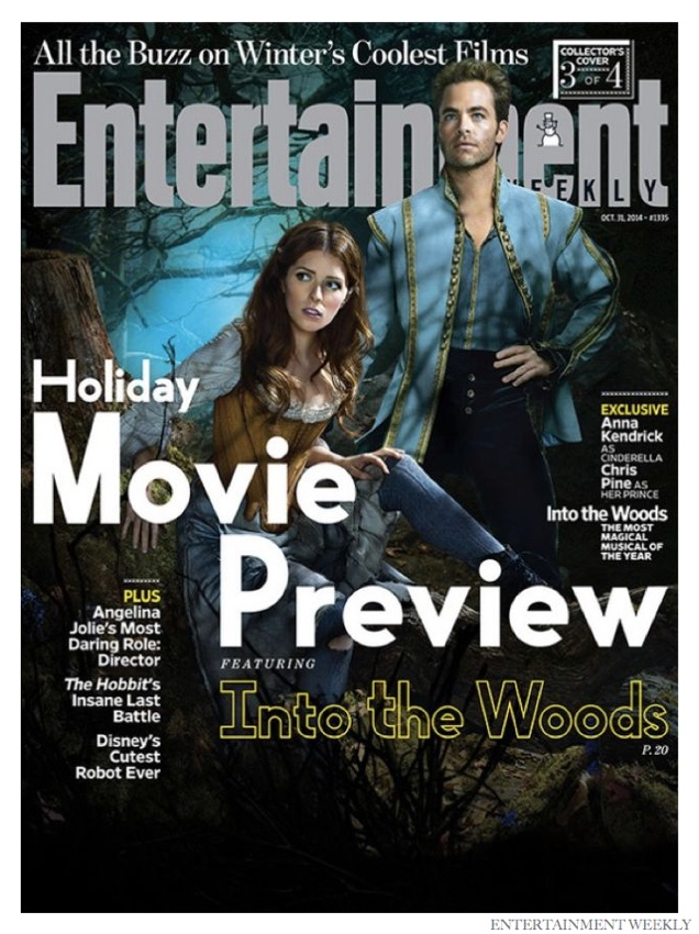 Johnny Depp, Chris Pine + More Cover Entertainment Weekly for 'Into the Woods'