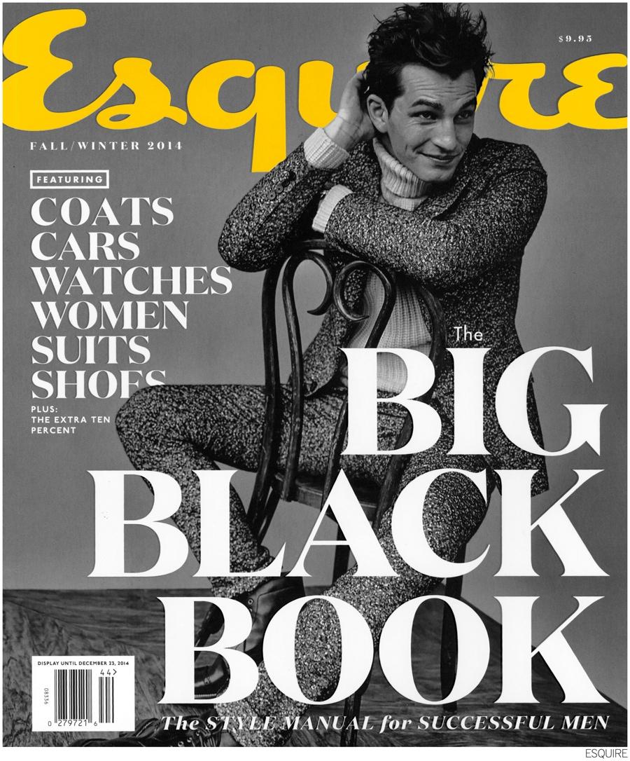 Chris Folz Covers Esquire's Big Black Book