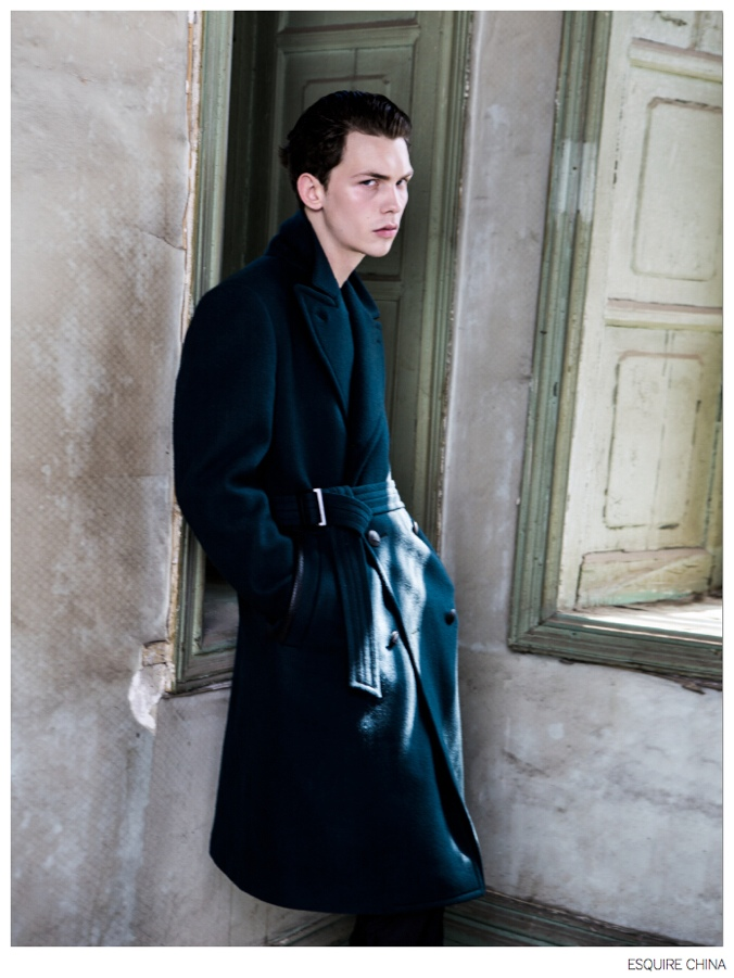Li Xiang & Jay Model Fall Coats for Esquire China