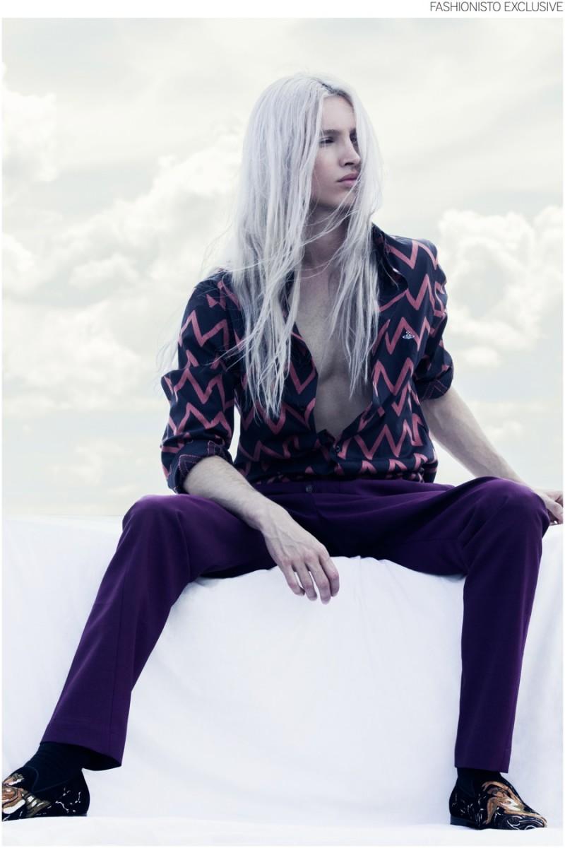 Fashionisto Exclusive Jose Wickert By Michael Silver