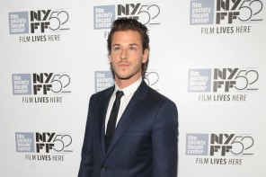 Actor Gaspard Ulliel was dressed to impress on September 30, 2014 as he attended the premiere of his latest movie, 'Saint Laurent'. Held during the New York Film Festival, Ulliel was quite the red carpet vision in navy and black tailoring.