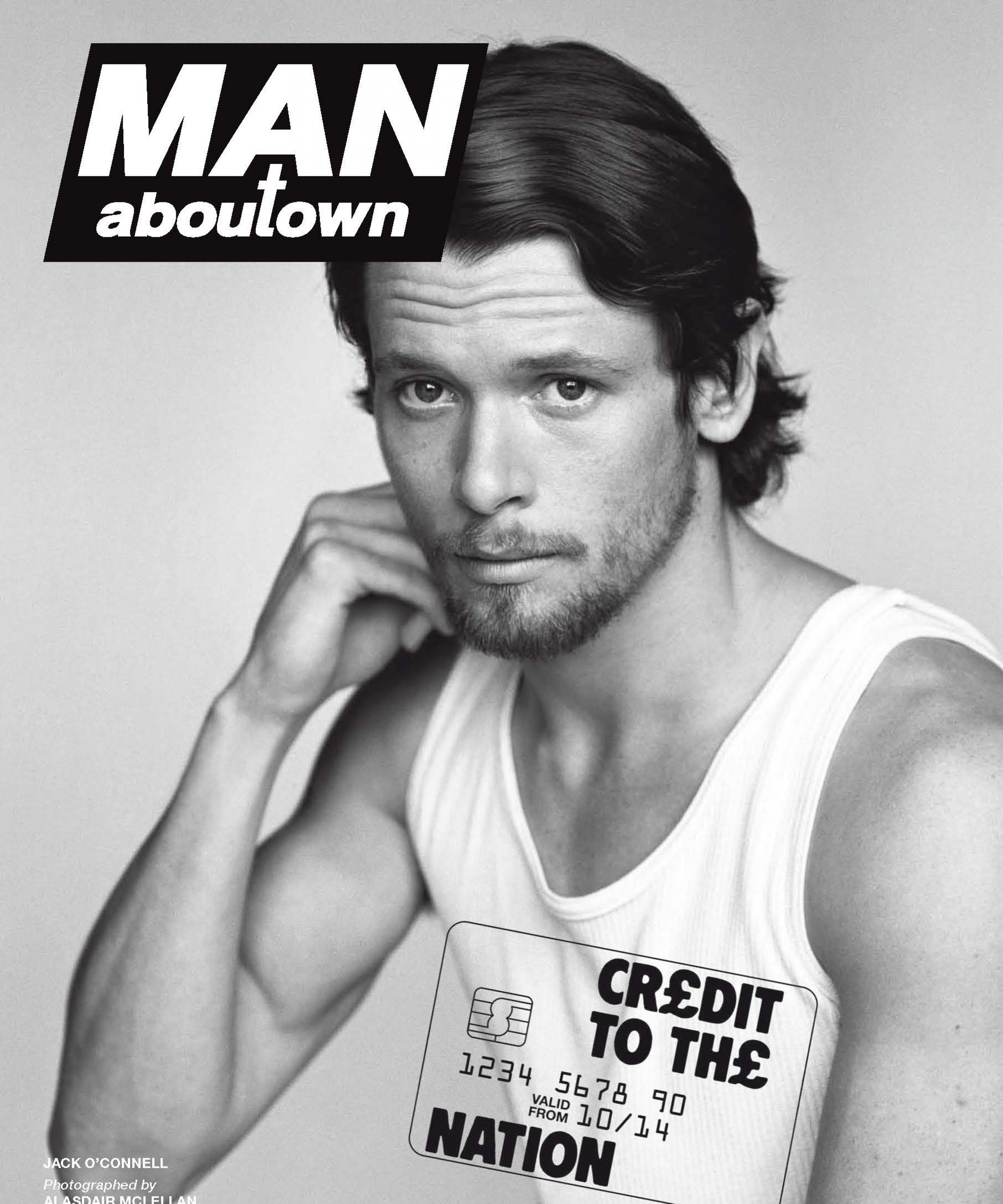 Jack O'Connell Covers Man About Town Fall/Winter 2014 Issue