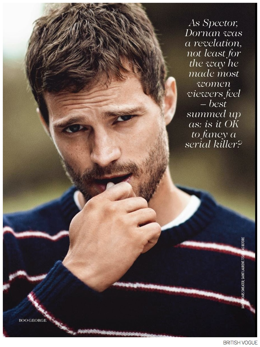 Jamie Dornan Photo Shoot for British Vogue November 2014