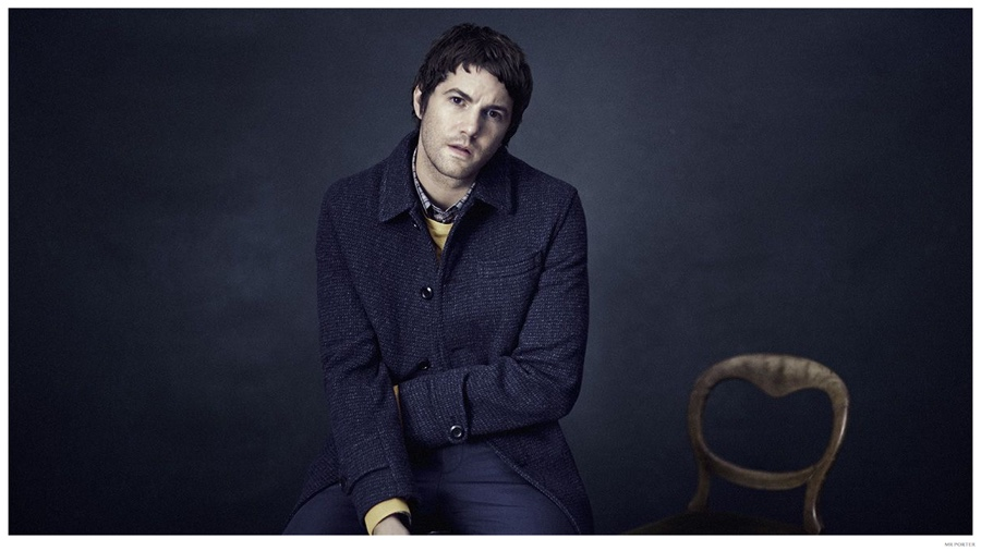 Jim Sturgess Connects with Mr Porter for Stylish Photo Shoot