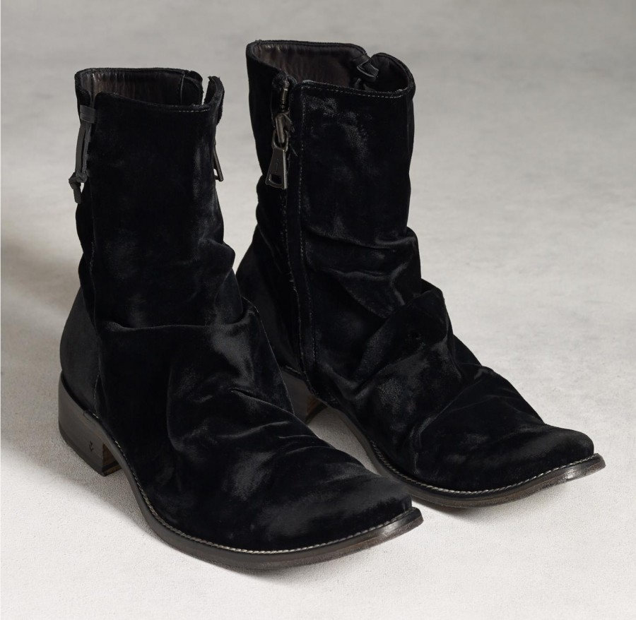 d11bd800e8c49c John Varvatos Adds Velvet to the Mix with Designer Boots   The ...