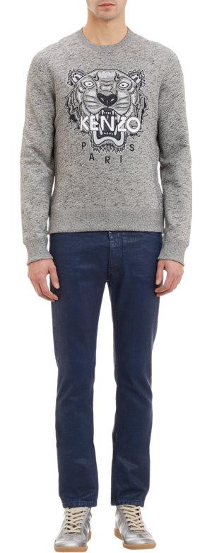 Kenzo Tigerhead Embroidered Sweater