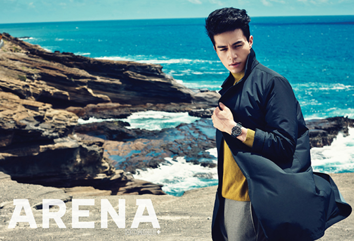 Lee Dong Wook Photo Shoot for Arena Homme+ Korea October 2014