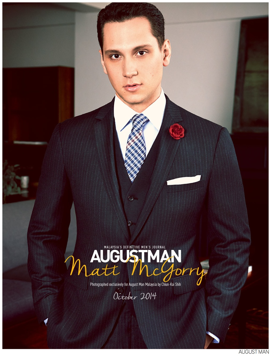 Matt McGorry for August Man, Talks Orange is the New Black + How to Get Away with Murder