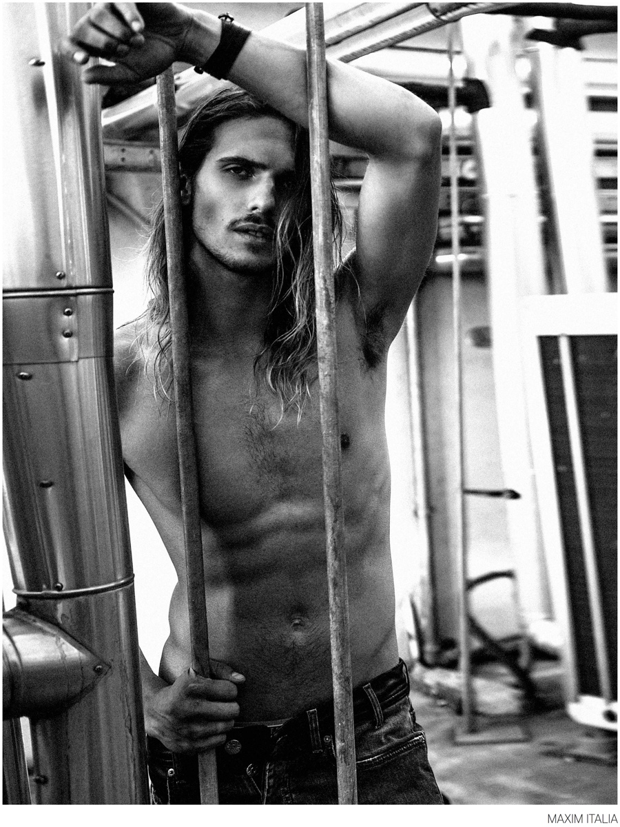 Bruce Machado, Linus Gustin + More Sport Denim for Maxim Italia
