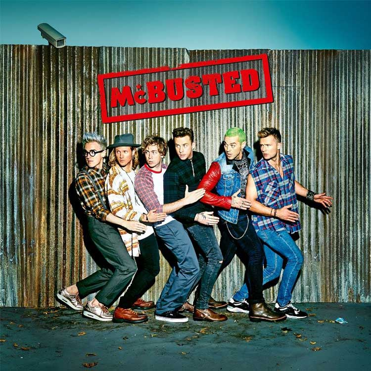 British boybands Busted and McFly come together sans Charlie Simpson for a boyband supergroup McBusted and their self titled album is due out December 1st.