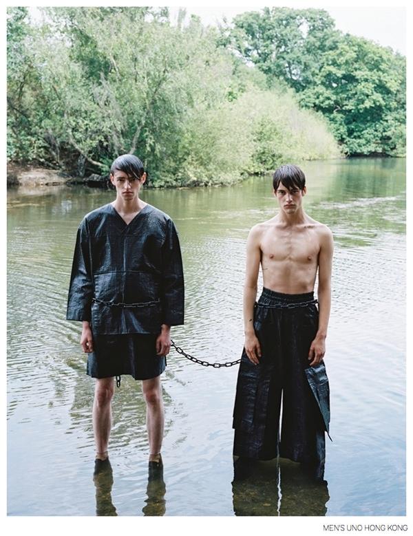 Imaginary Boys: Ben Waters & Sylvester Ulv for Men's Uno Hong Kong