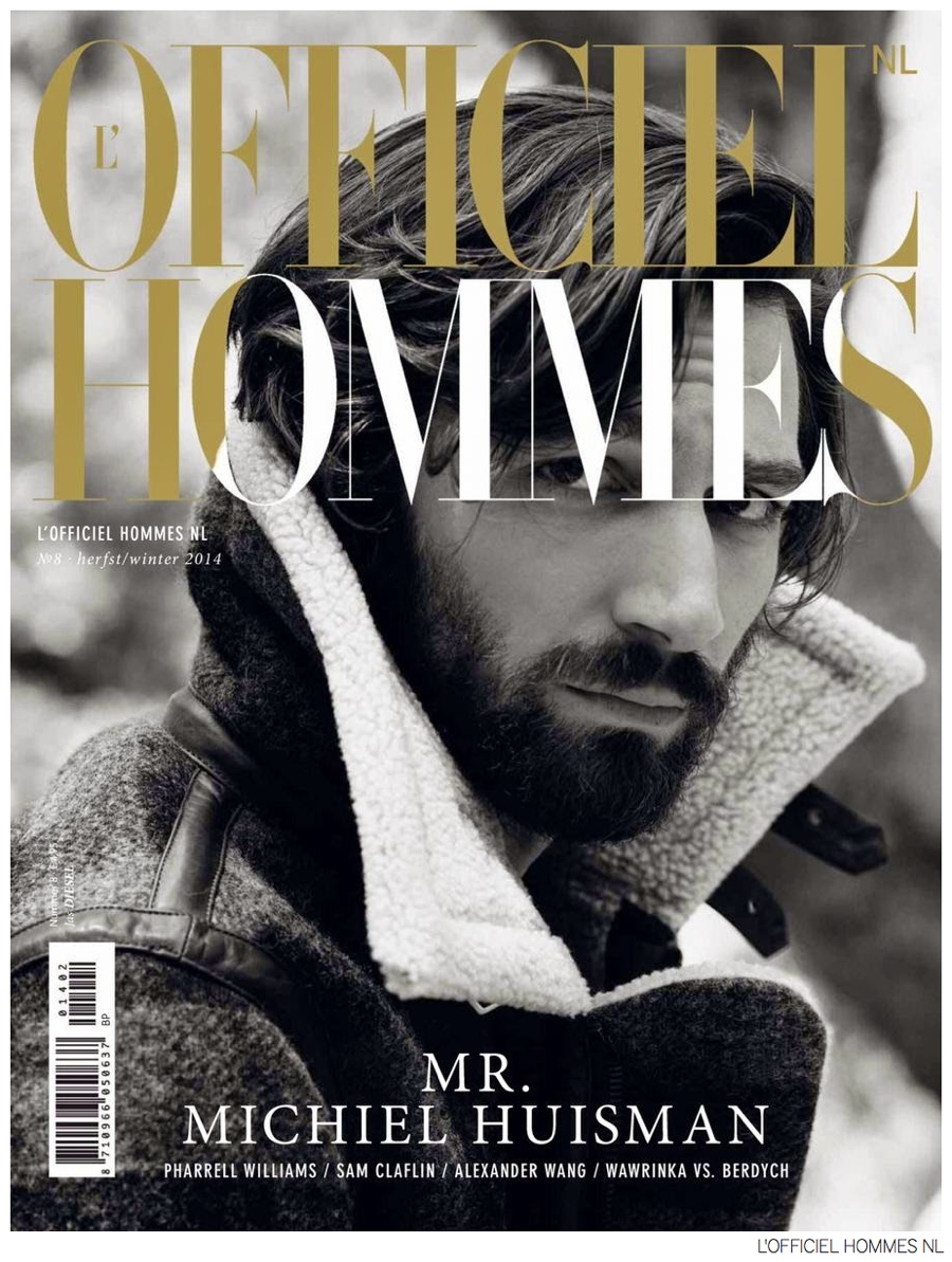 Michiel Huisman Covers L'Officiel Hommes NL Fall/Winter 2014 Issue