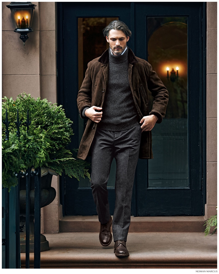 Ben wears all clothes Brunello Cucinelli.
