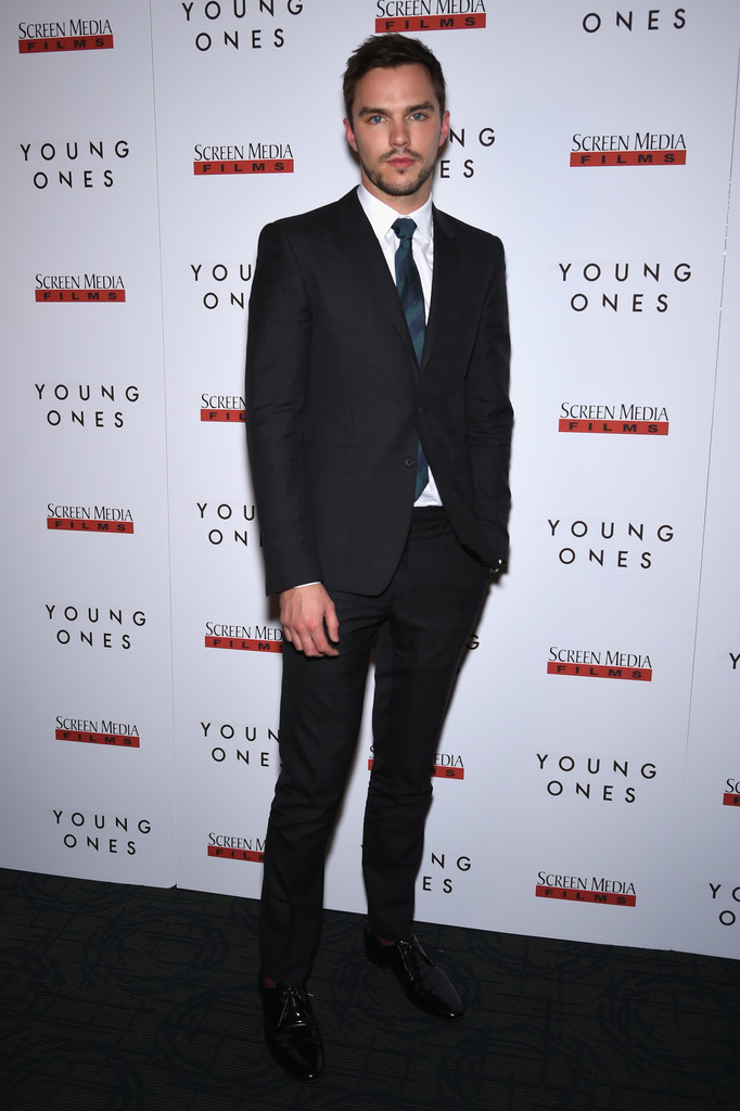 Nicholas Hoult Attends 'Young Ones' New York Premiere
