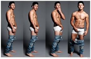 Nick Jonas Underwear Flaunt