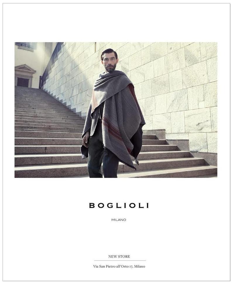 Patrick Petitjean Fronts Boglioli Fall/Winter 2014 Campaign