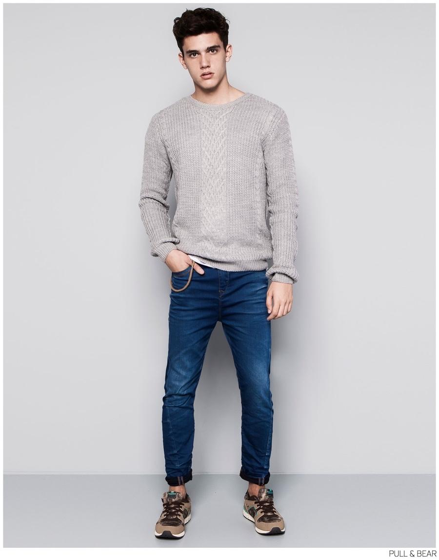 Xavier Serrano Models Pull & Bear's Latest Fall Fashions