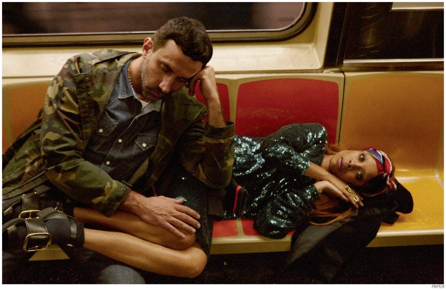 Riccardo Tisci Joins Erykah Badu For Paper Magazine Cover